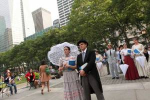 Bloomsday Bryant Park